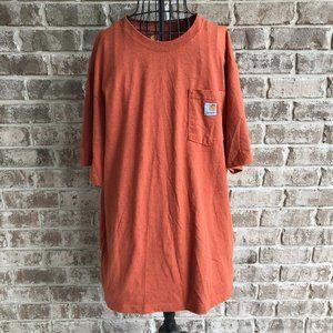 Carhartt Original Fit Work T Shirt XL Construction